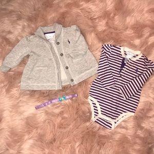 Ralph Lauren Sweater and Bodysuit Set ✨🛍